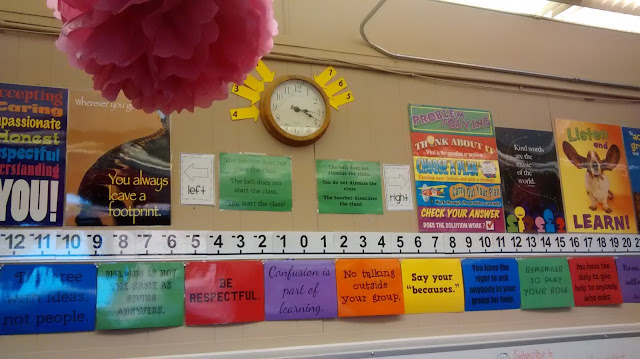 Math = Love: Printable Vertical Number Line Posters