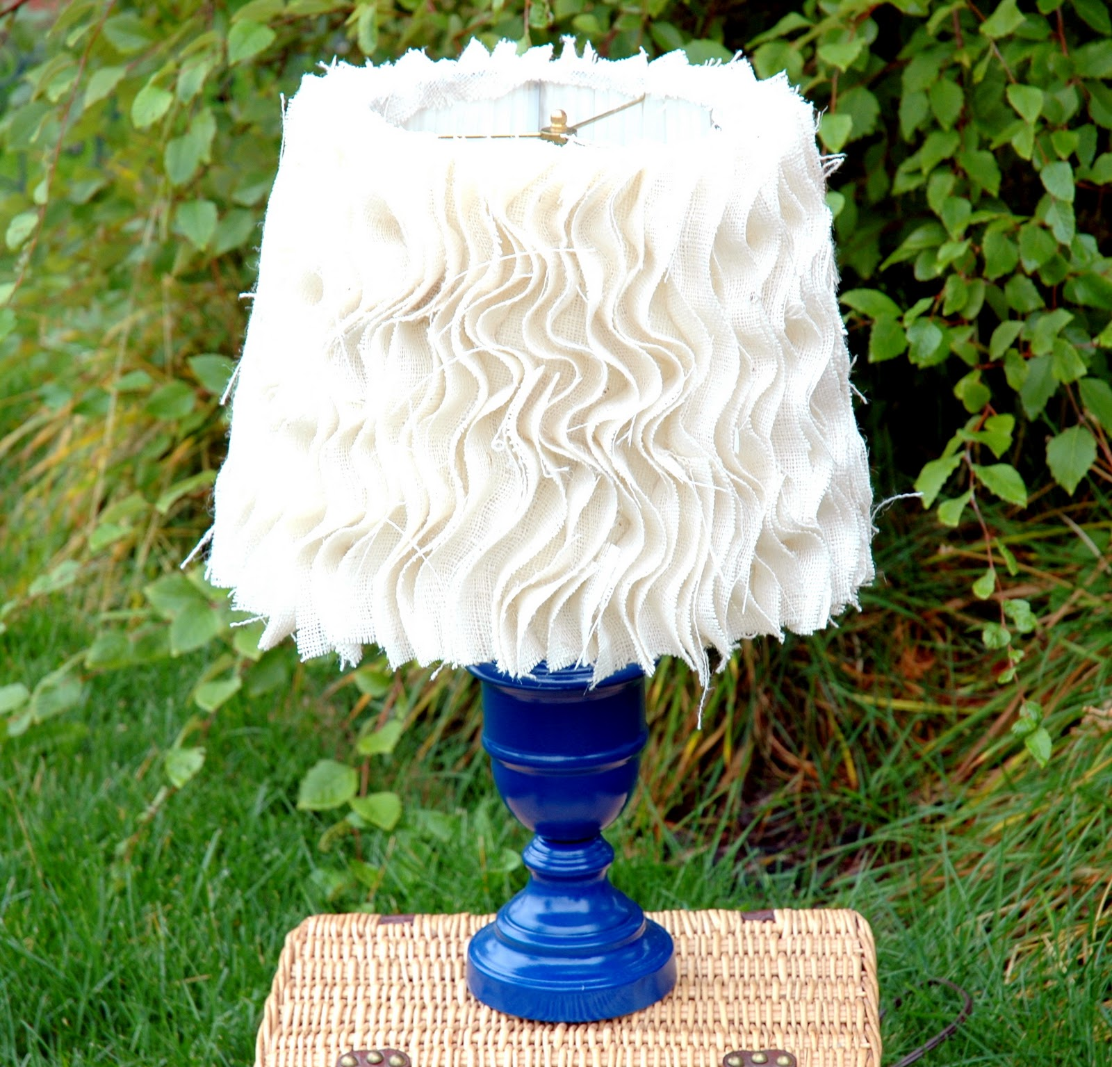 Anthropologie Lamps: The Turquoise Piano: Anthropologie Inspired Lamp Tutorial #2