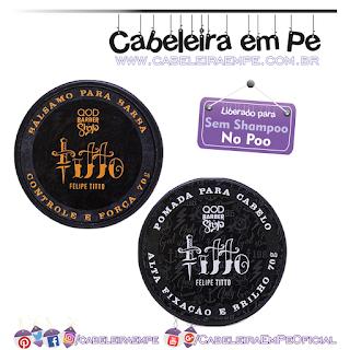 Pomada Para Cabelo E Bálsamo Para A Barba Felipe Titto - Qod (No Poo)