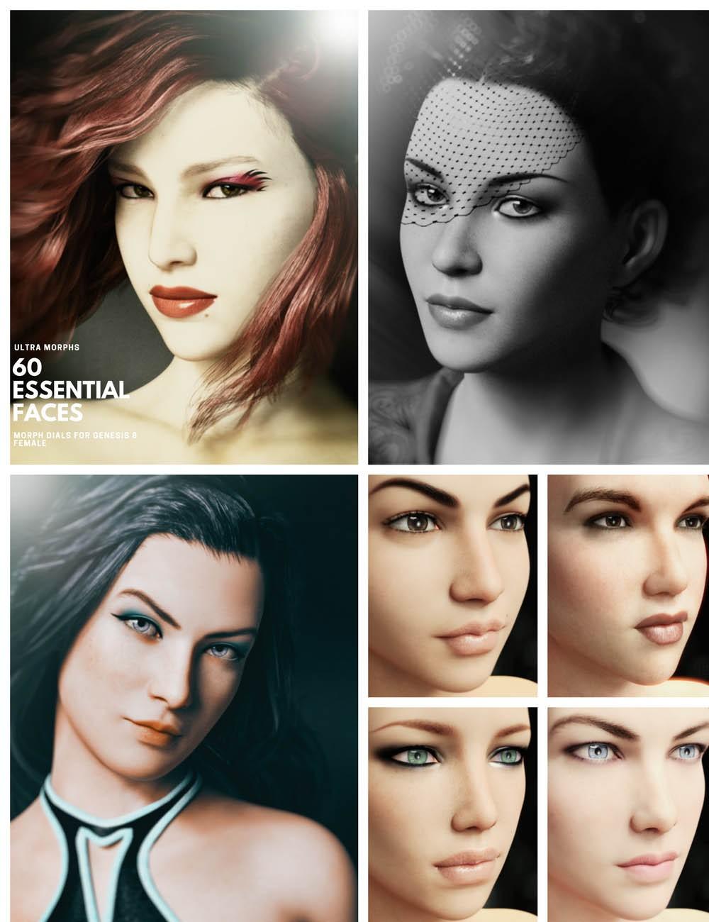 Download DAZ Studio 3 for FREE!: DAZ 3D - Ultra Morphs - 60