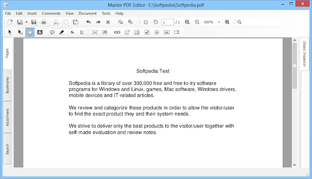 تحميل برنامج عرض وتعديل ملفات بي دي اف للكمبيوتر Master PDF Editor 3.7.10
