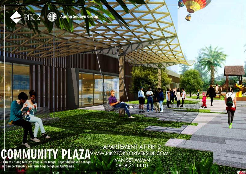 comunity plaza pik2