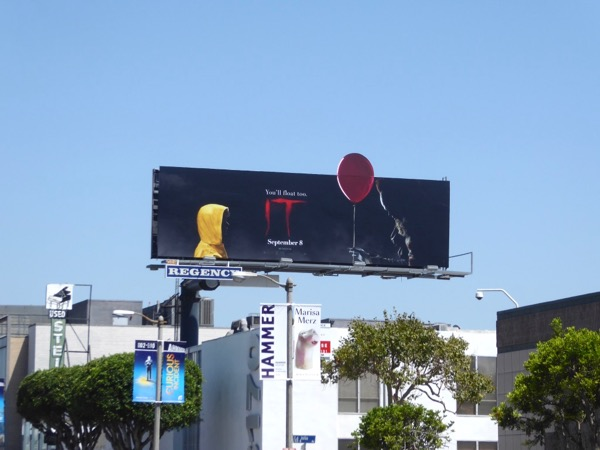IT 2017 movie billboard