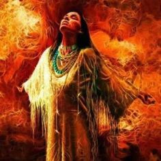 Indian Girl And Fire Pictures