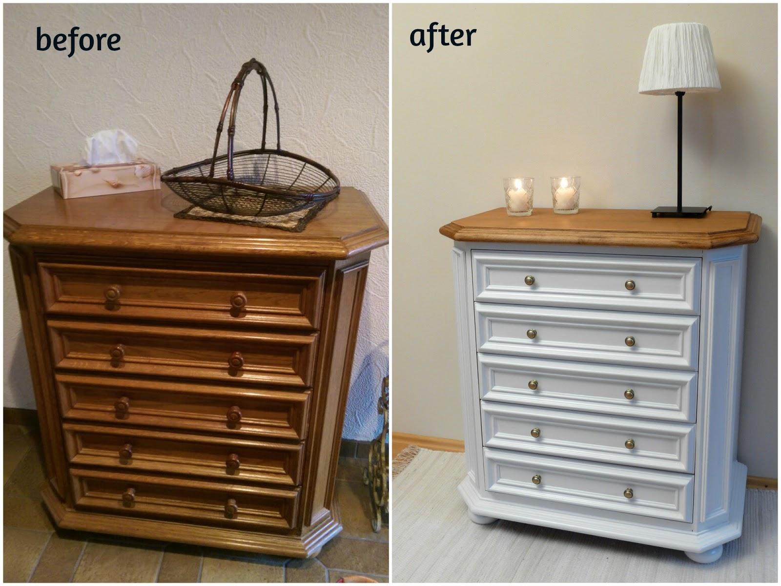 dekoelement rustikale schubladenkommode im neuen look. Black Bedroom Furniture Sets. Home Design Ideas