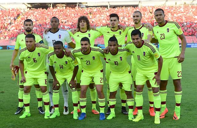 Formación de Venezuela ante Chile, Clasificatorias Rusia 2018, 28 de marzo de 2017