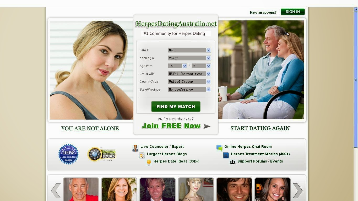 Herpes dating website