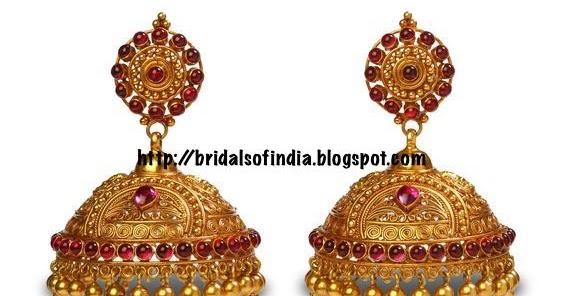 Fashion World Beautiful Jhumkas Bhima Jewellery