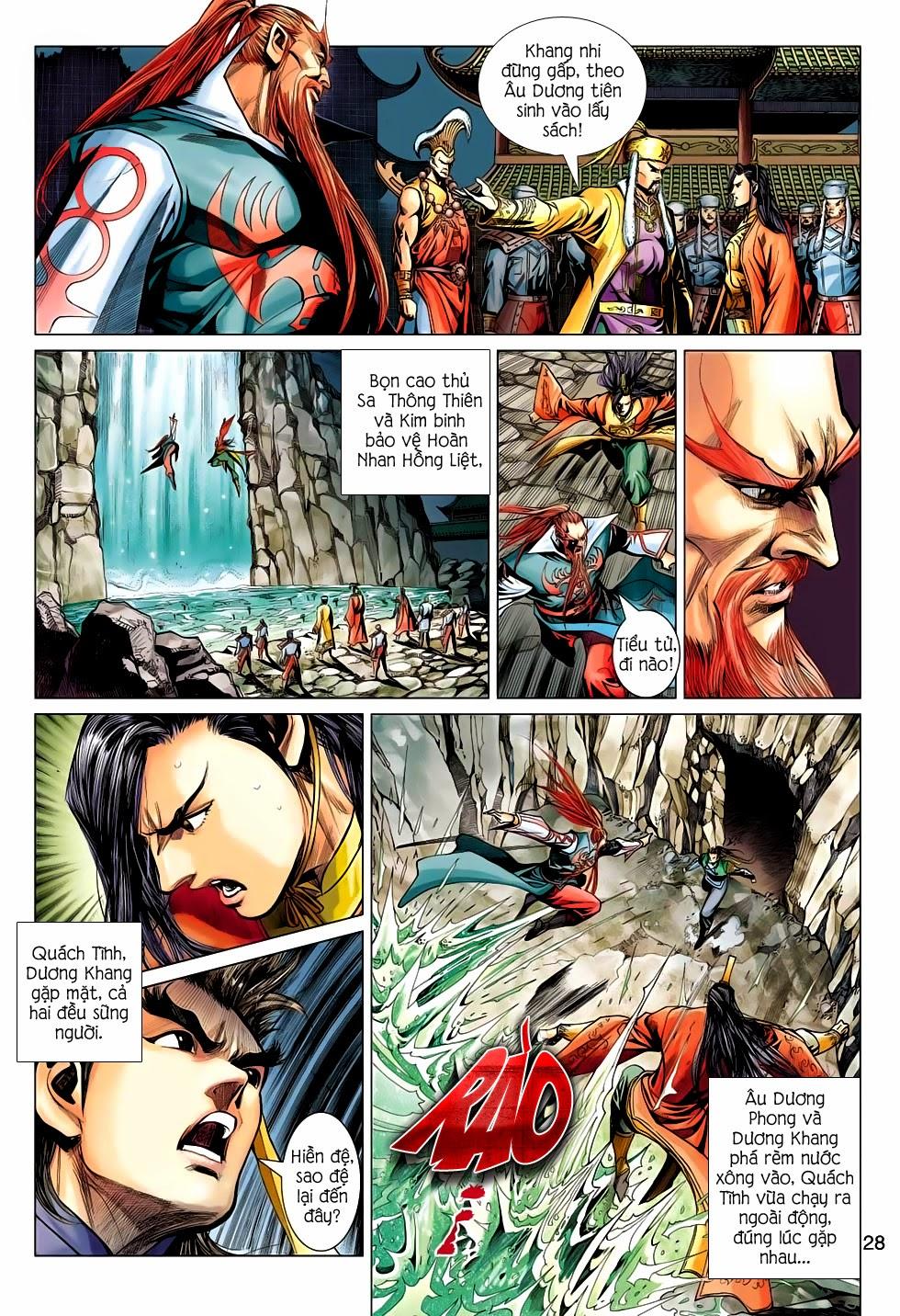Anh Hùng Xạ Điêu anh hùng xạ đêu chap 56: tuyệt tình vô nghĩa lãnh huyết ác niệm trang 28