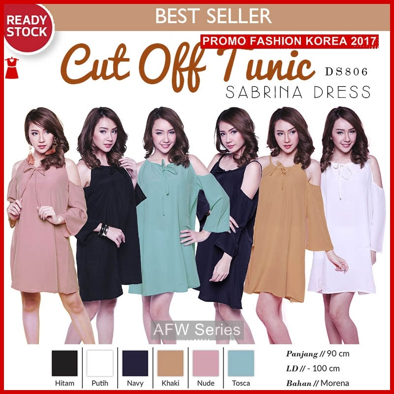 BAMFGW065 Cut Tunic Simple Wanita PROMO BMG