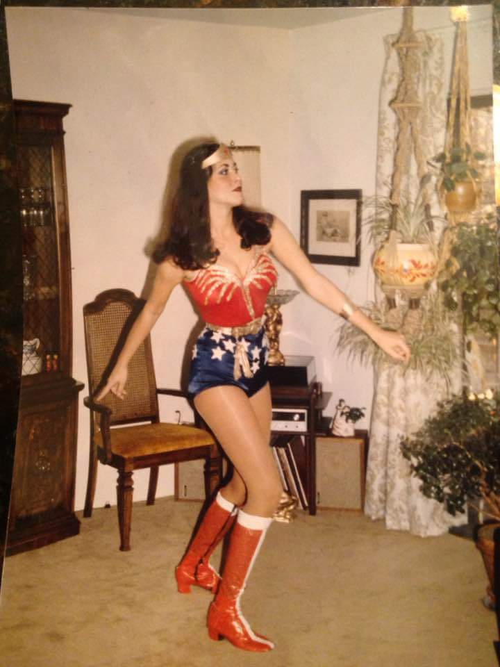 Professional Wonder Woman Costume