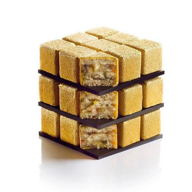 bolos feitos de cubos magicos 06 - Os cubos mágicos que você provavelmente adoraria devorar.