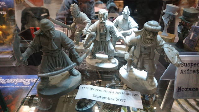 Northstar Miniatures: New Frostgrave Ghost Archipelago Plastic Heritors