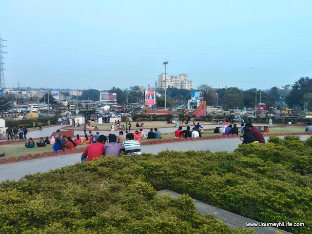 Satue of Shivaji Maharaj & Sant Tukaram, Bhakti Shakti Garden