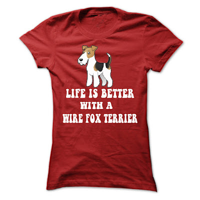 Wire fox terrier T Shirts