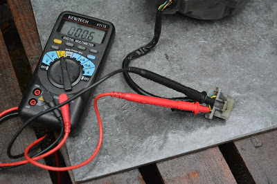 Honda CBR 125 R Generator alternator stator coil testing