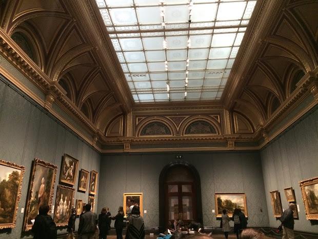 James Bond Locations Sackler Room National - Skyfall Paintings