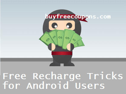 free recharge tricks for android users