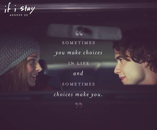 Delicious Reads: If I Stay {Book to Movie}