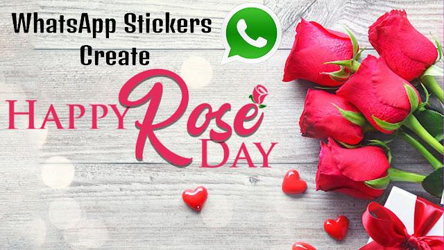 Rose Day Special : WhatsApp पर खुद का स्टीकर्स बनाकर ऐसे करें अपने पार्टनर को Wish