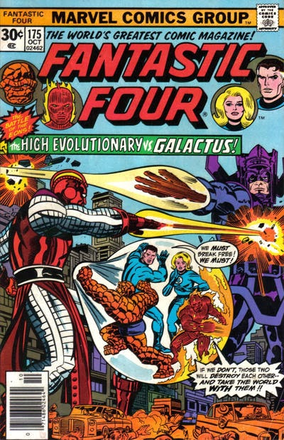 Fantastic Four #175, the High Evolutionary vs Galactus