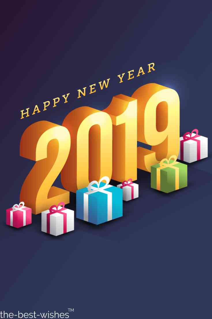 wish you happy new year to friends
