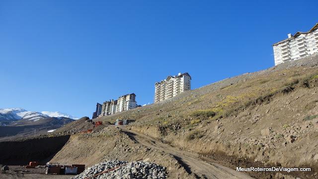 Os hotéis do Valle Nevado