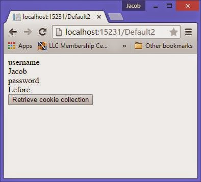 How to create cookies in asp.net c#