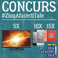 Castiga 5 televizoare smart, 10 smartphone-uri și 15 boxe portabile