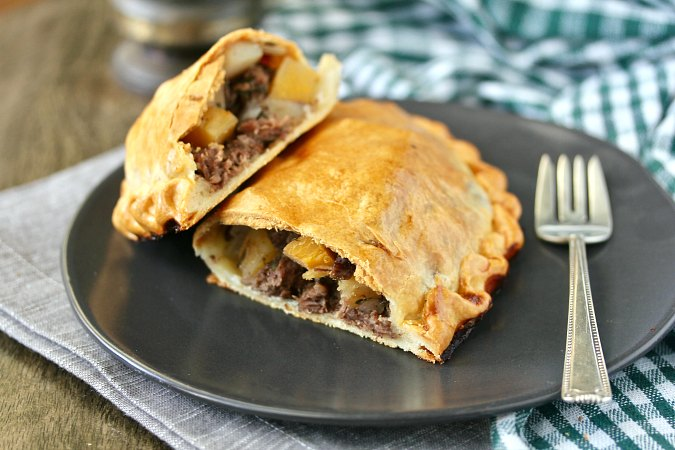 Cornish Pasty hand pies