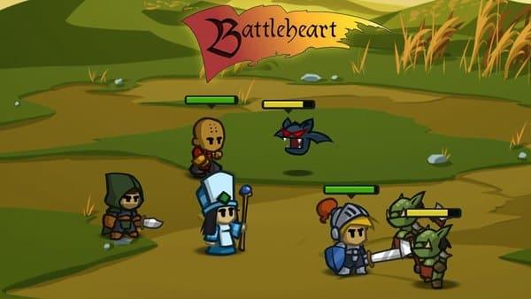 Battleheart: RPG leve e offline para Android e iOS