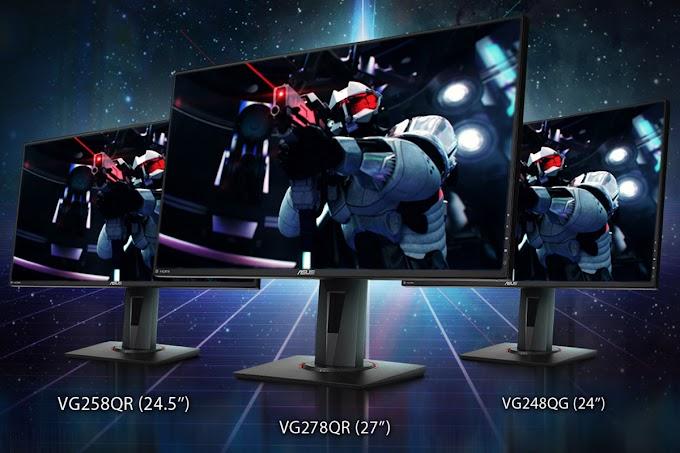 ASUS Reveals Three New Nvidia G-Sync Compatible Gaming Monitors