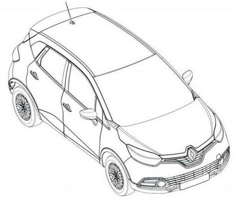 Renault's global hatchback revealed in sketches ~ Wheel-O