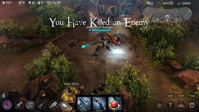 chơi game Vainglory trên PC