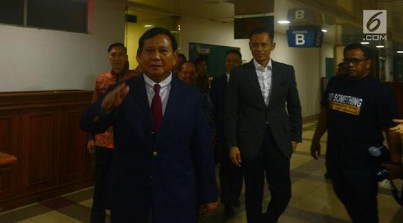 Prabowo Bersedia Tak Nyapres Lagi, PKS: Luar biasa, itu Negarawan