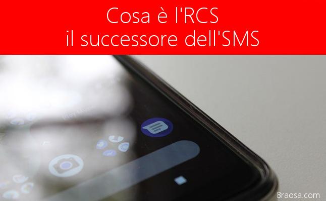 Cos'è l'RCS il successore degli SMS