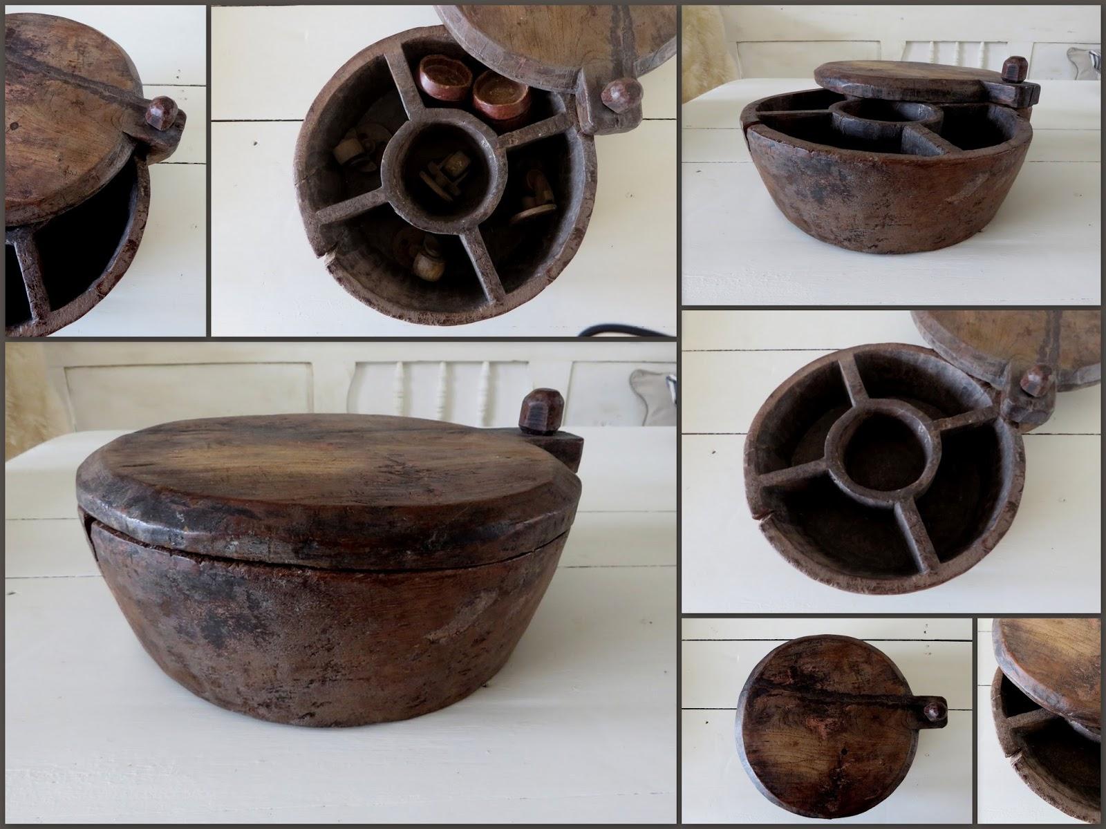 Maison louise houten kruidenpot schaal en oude tafelwielen for Opheffingsuitverkoop meubels