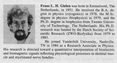 A brief bio of Frans Gielen, published in IEEE Trans Biomed Eng.