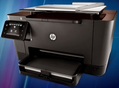 Think of it every bit a multifunction color Light Amplification by Stimulated Emission of Radiation printer Download Driver HP LaserJet Pro M275 MFP