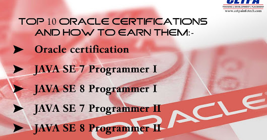 Top 10 Oracle Certifications and How to Earn Them