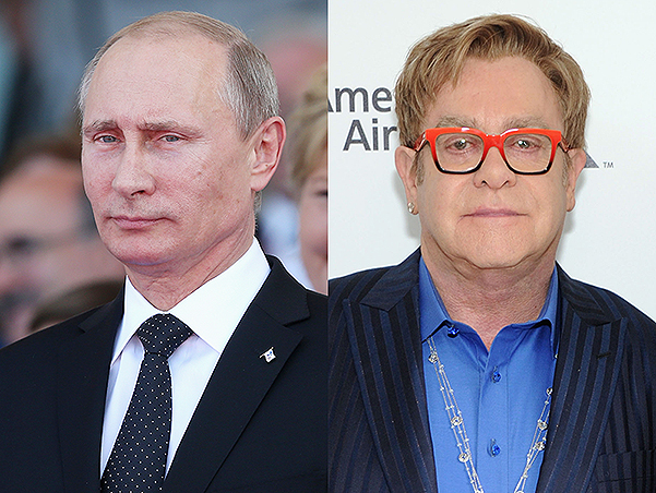 Dmitry Peskov about the call of Vladimir Putin Elton John