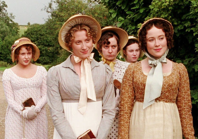The actresses who played the Bennet sisters in the 1995 mini-series, Pride and Prejudice