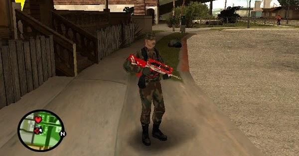 Senjata Famas  GTAind  Mod GTA Indonesia