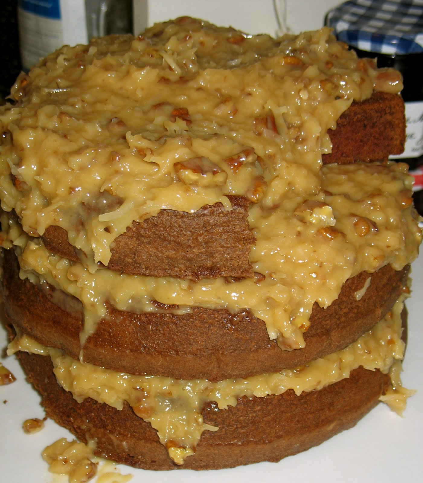german chocolate cake from scratch susanna pitzer german chocolate cake from scratch 4483