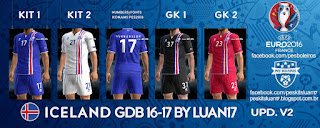 Kits Iceland Errea 2016-2017 Update v2 Pes 2013 By Luan17