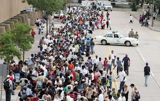 Hurricane Katrina shelter