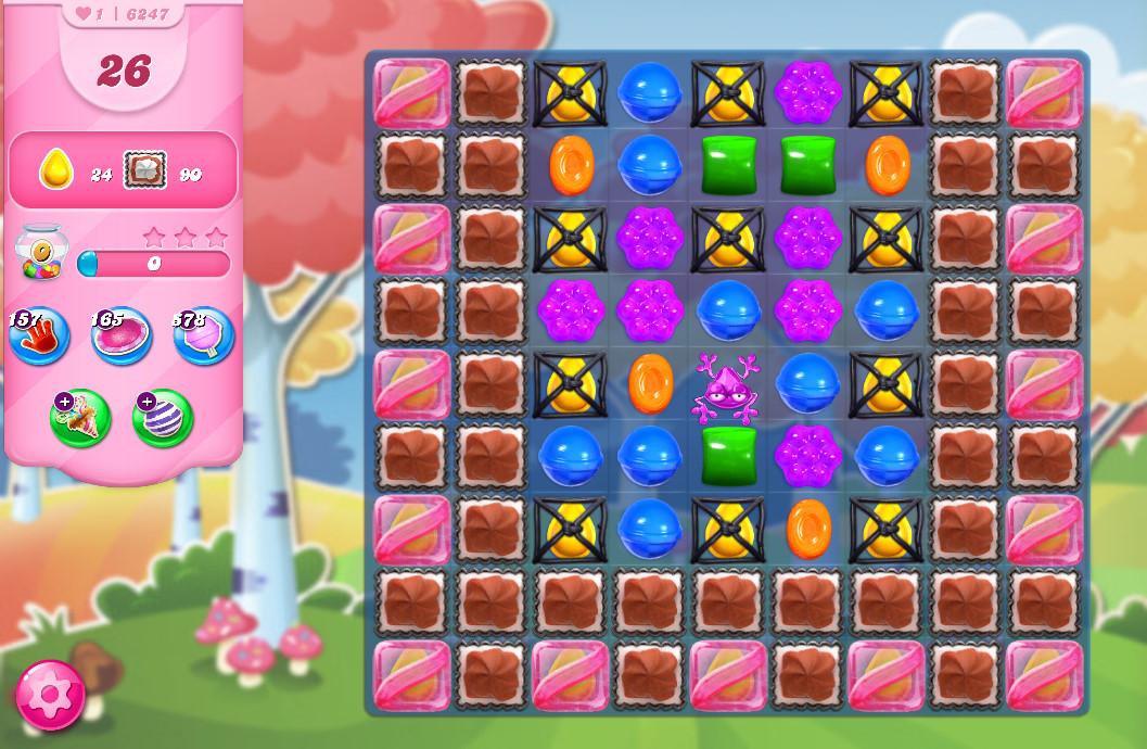 Candy Crush Saga level 6247
