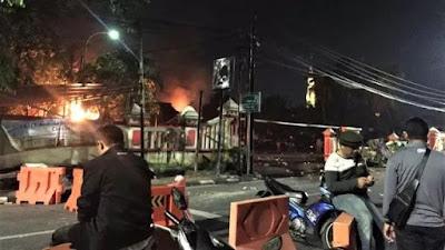 Inilah Kronologi Pengrusakan Dan Pembakaran Polsek Ciracas, Jakarta Timur