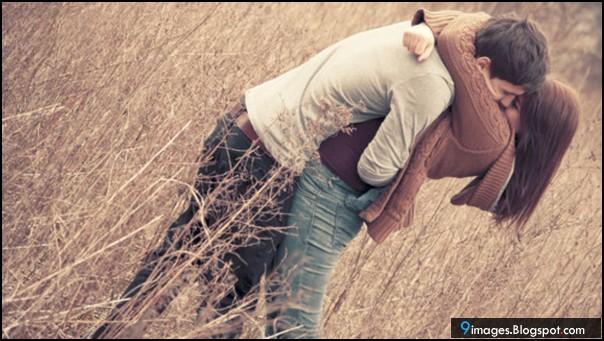 Hug Couple Kiss Cute Lovely