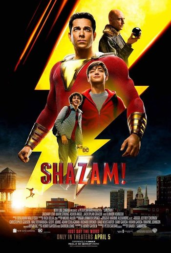 Shazam! (2019) Dual Audio Hindi ORG 450MB BluRay 480p ESubs